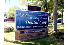 - Architectural Signage - Monument Sign - Whidbey Avenue Dental Care - Oak Harbor, WA