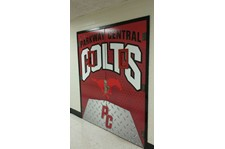 Door Vinyl Wrap Parkway Central Colts Chesterfield, MO