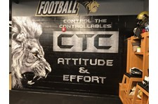 Wall Vinyl Graphic Lindenwood University St. Charles, MO